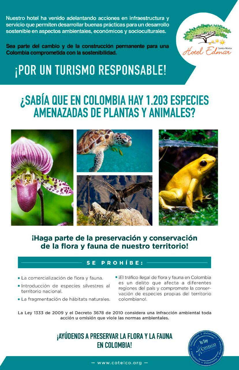 Especies amenazadas en Colombia
